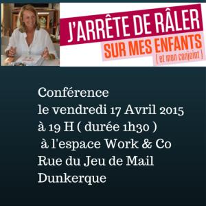 Conférence le vendredi 13 mars 2015